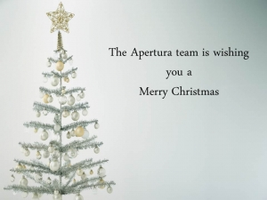 Apertura and his team is wishing you a